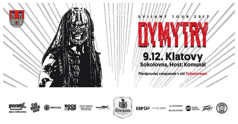 Dymytry - Svijany tour 2017 - Klatovy