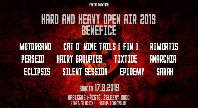Hard And Heavy Open Air Fest 2019 - Železný Brod