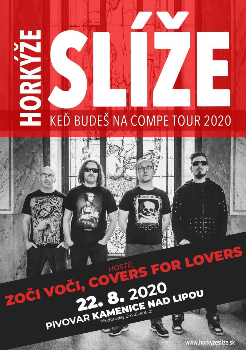 Horkýže Slíže + Zoči Voči + Covers for lovers - Kamenice nad Lipou